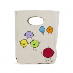 Fluf Organic Lunch Bag - Chirp!